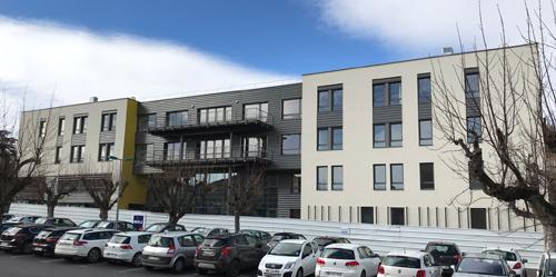 Isolation par l'extérieur – Hôpital Emile Roux au Puy-en-Velay