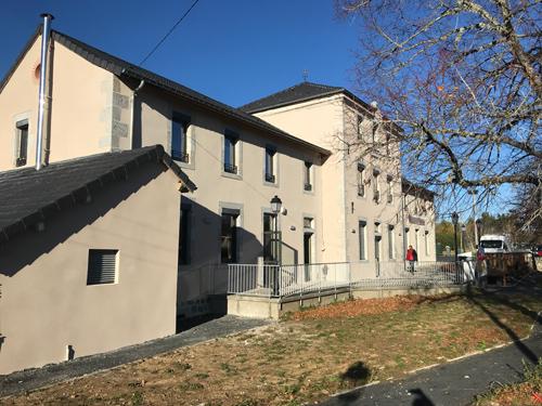 Enduit hydraulique – Mairie de Mars en Ardèche