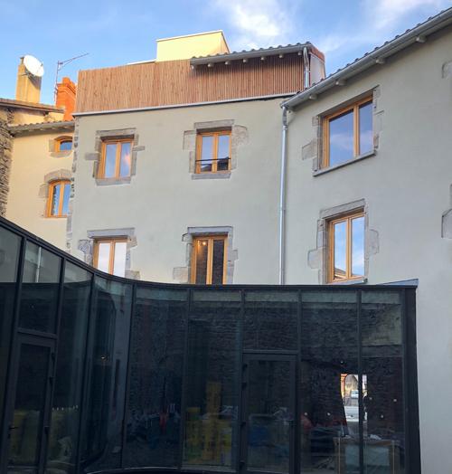 Enduit hydraulique – Restaurant à Yssingeaux